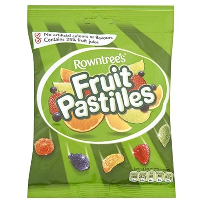 Picture of £1.00 ROWNTREES FRUIT PASTILLES (10)