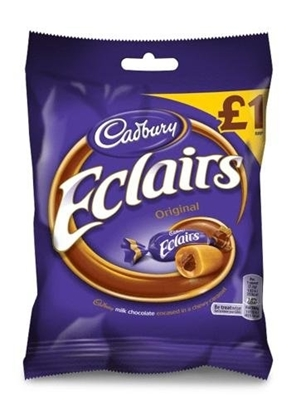 Picture of £1.00 CHOCOLATE ECLAIRS  (12)