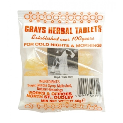 Picture of £0.79 GRAY'S HERBAL TABLETS (30)