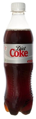 Picture of £1.00 COKE DIET 500ml BOTTLE (24)
