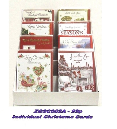 Picture of £0.99 ASSORTED CHRISTMAS CARD SINGLES