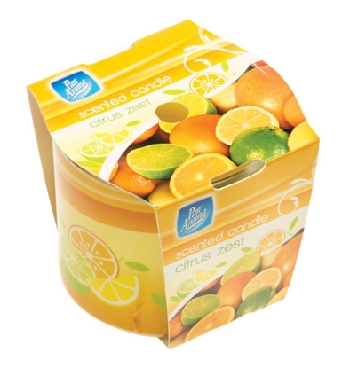 Picture of £1.00 CITRUS SLEEVE CANDLE (12)