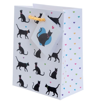 Picture of £0.59 CAT SMALL GIFT BAGS (12)