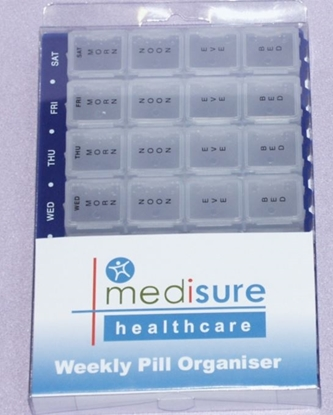 Picture of £5.99 MEDISURE WEEKLY PILL ORGANISER