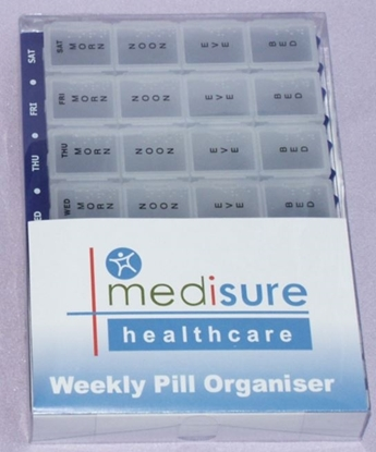 Picture of £9.99 MEDISURE WEEKLY PILL ORGANIS. XL