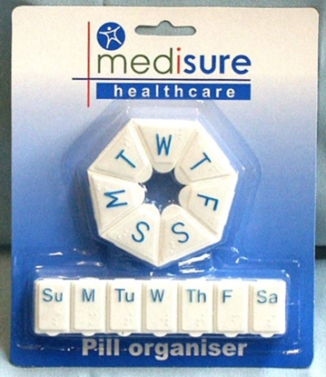 Picture of £1.49 MEDISURE DUO PILL BOX (6) MS05819