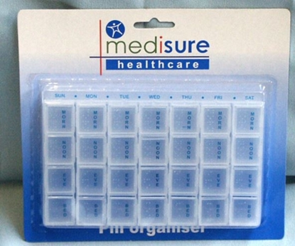 Picture of £1.79 MEDISURE WEEKLY PILL ORGANISER