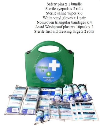 Picture of £9.99 QUALICARE DELUXE FIRST AID KIT