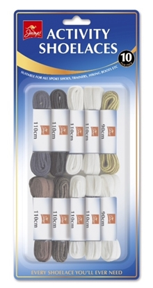 Picture of £1.49 ACTIVITY SHOE LACES (10)