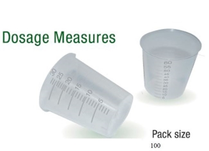 Picture of 60ml MEDICINE MEASURES (50)