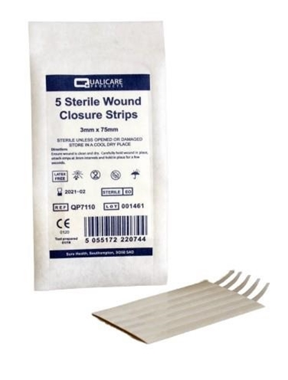 Picture of £0.49 QUALICARE 5 WOUND CLOSE.STRIPS (50