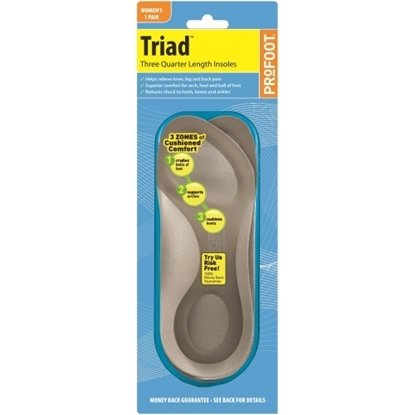 Picture of £15.90 PRO-FOOT WOMAN'S TRIAD INSOLE (6)