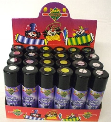 Picture of £1.00 GLITTER HAIRSPRAYS MULTI-COL (12)