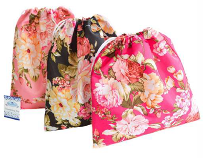 Picture of £1.49 ROSE DRAWSTRING BAGS