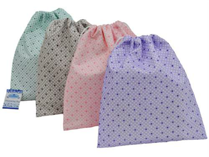 Picture of £1.49 SPOTTY DRAWSTRING BAGS