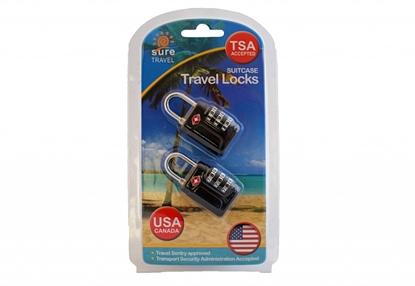 Picture of £7.49 TSA TRAVEL CASE 2 PACK LOCKS
