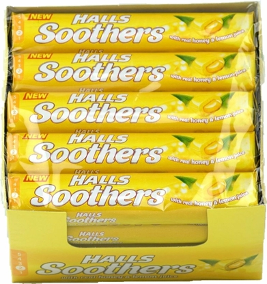 Picture of £0.69 HALLS SOOTHERS HONEY 45g (20)