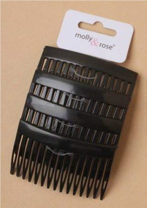 Picture of £0.99 SIDE COMBS SMALL BLK X 2/4 (12)