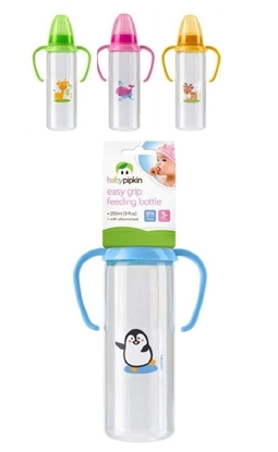 Picture of £1.79 BABY PIPKIN GRIPPER BOTTLE 8oz (12