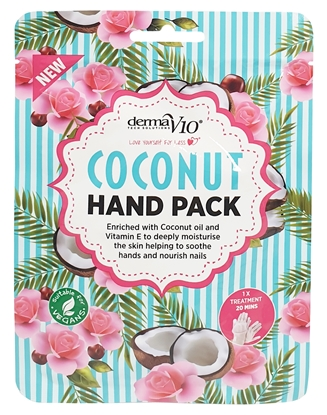 Picture of £1.00 DERMA V10 HAND PACK COCONUT (12)
