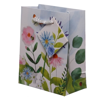 Picture of £0.79 BOTANICAL GARDEN GIFT BAG MED (12