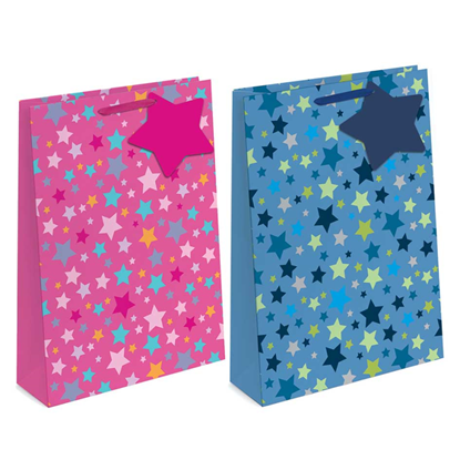 Picture of £1.29 GIFT BAG X-LGE STARS (12)