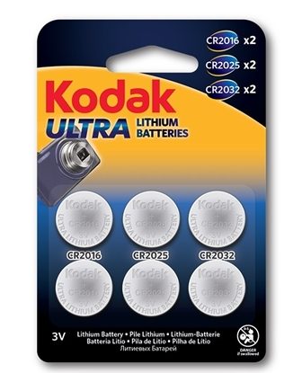 Picture of £1.00 KODAK BATTERIES BUTTON X 6