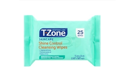 Picture of £0.49 T-ZONE CLEANSING WIPES 25's (24)