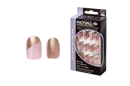 Picture of £2.99 ROYAL PEARLESQUE NAILS (6)