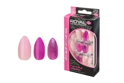 Picture of £2.99 ROYAL FANCIFUL NAILS (6)