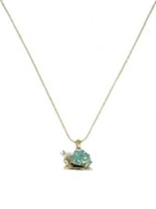 Picture of £2.49 SNAIL NECKLACE & POUCH 52278 (1)