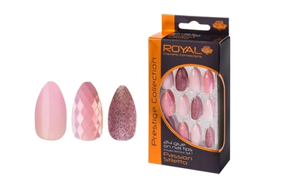 Picture of £3.99 ROYAL PASSION NAILS (6)