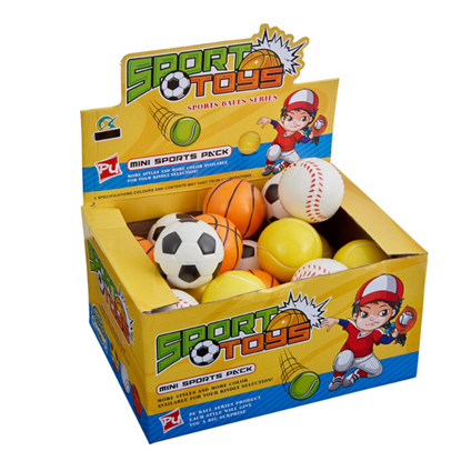 Picture of £1.00 SPORTS BALLS ASSTD (24)