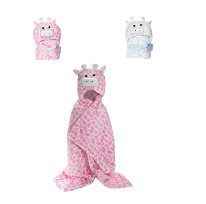Picture of £9.99 GIRAFFE HOODED WRAPS (3)