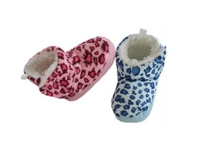 Picture of £3.99 VELOUR BOOTS LEOPARD (12)