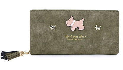 Picture of £9.99 SCOTTY DOG LONG PURSES (5)