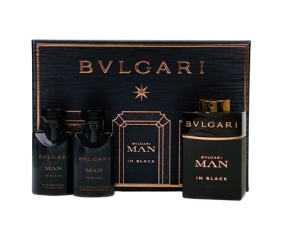 Picture of £63.00/49.00 BVLGARI MAN IN BLACK G/SET