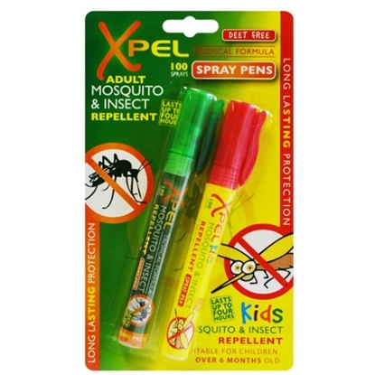 Picture of £1.00 XPEL 10ml  PEN SPRAYS x 2 (24)