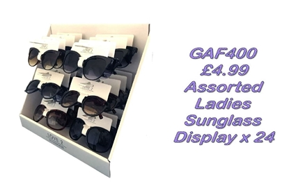 Picture of £4.99 LADIES LOVE2 SUNGLASS UNIT  (24)