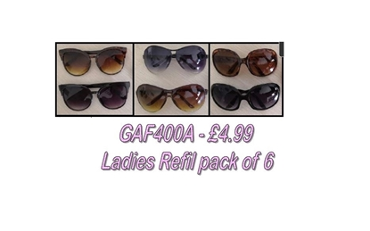 Picture of £4.99 LADIES LOVE2 SUNGLASS REFIL (6)