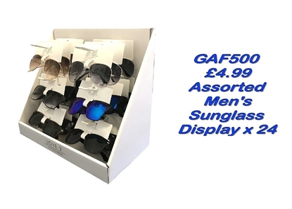 Picture of £4.99 MENS LOVE2 SUNGLASS UNIT  (24)