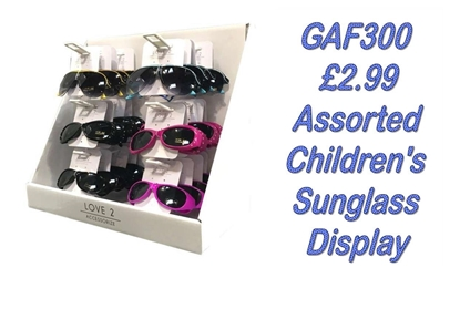 Picture of £2.99 KIDS LOVE2 SUNGLASS UNIT  (24)