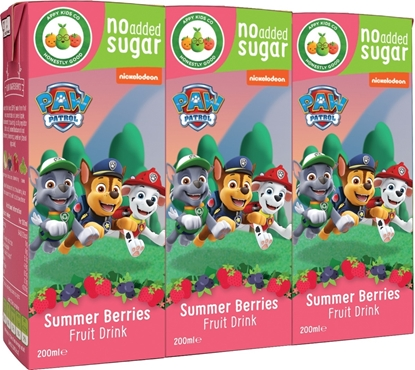 Picture of £0.49 PAW PATROL JUICE CARTON BERRIES(24