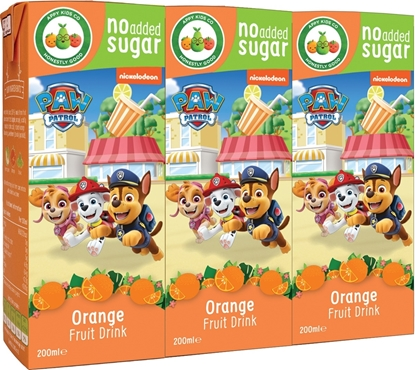 Picture of £0.49 PAW PATROL JUICE CARTON ORANGE(24)