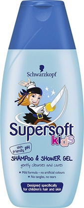 Picture of £1.00 SUPERSOFT SHAMPOO & SH.GEL BLUE (5