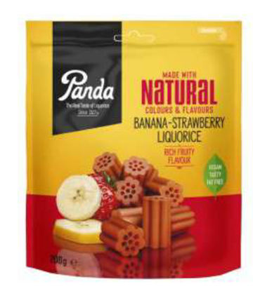 Picture of £2.39 PANDA BAN/STRAW LIQUORICE 200g (6)
