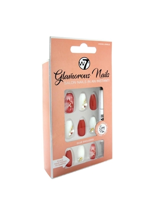 Picture of £3.99 GLAMOUROUS NAILS CROWN JEWELS (12)