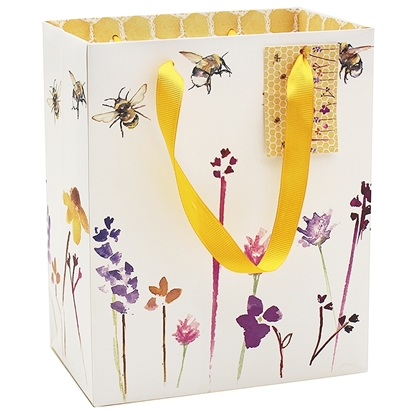 Picture of £0.99 BUSY BEE MEDIUM GIFT BAG (6)