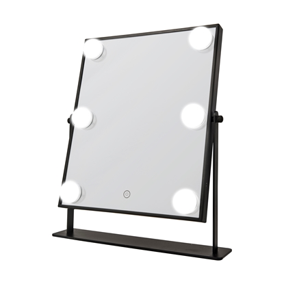 Picture of £29.99 HOLLYWOOD LED BLK MIRROR (2)