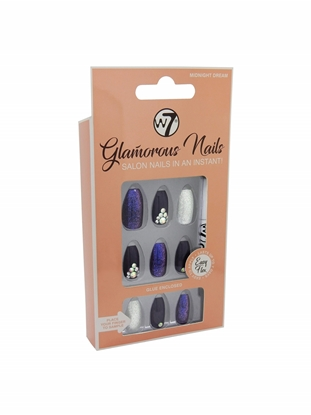 Picture of £3.99 GLAMOUROUS NAILS MIDNIGHT DR. (12)